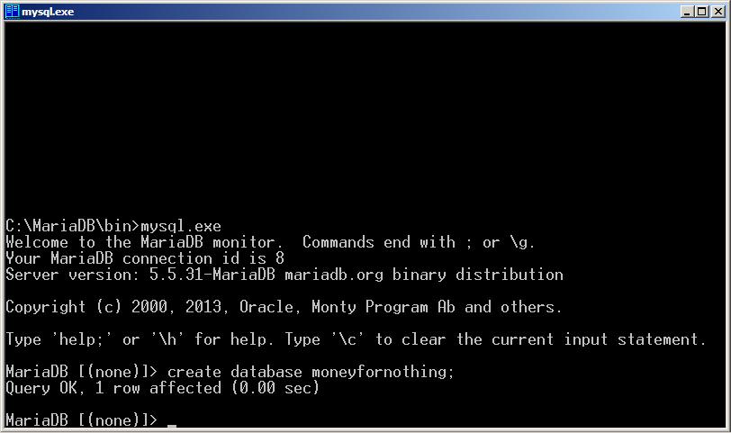 Программируем на Java. Базы данных. Создаем базу данных