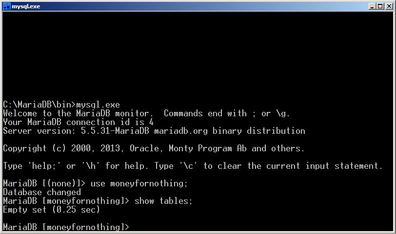 Программируем на Java. Базы данных. Показать таблицы